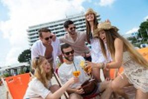 StrandKlub Party an der Maritim Seebrücke
