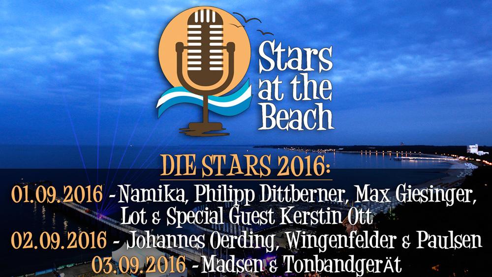 Stars at the Beach Timmendorfer Strand 2016