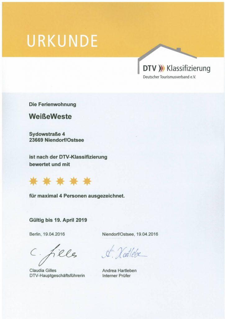 holiweek - WeisseWeste 5Sterne DTV